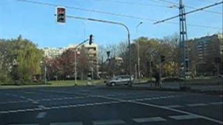 Kraków, Rondo Kocmyrzowskie - manewr zawracania