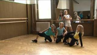 Kristýna Pecková ( Diamond cats ) - 2007 - 2009 s bývalou skupinou na Tv - Z1, 10.9. 2008