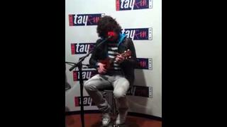 Kyle Falconer The View Live acoustic session at Tay FM