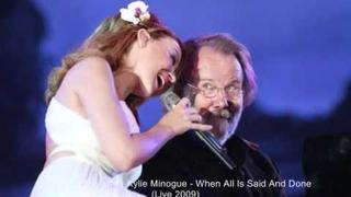 Kylie Minogue & Benny Andersson - When All Is Said And Done (Live at London, Hyde Park 2009)