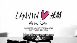 Lanvin x H&M Designer Collaboration 2010 - Alber Elbaz