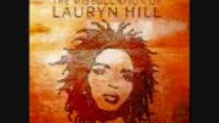 LAURYN HILL-TO ZION