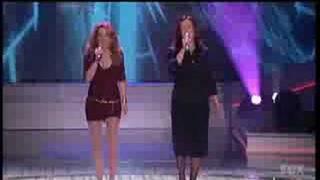 Lea Thompson with Belinda Carlisle 2006