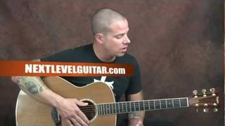 Learn Jackson Browne inspired acoustic fingerstyle guitar song These Days style lesson