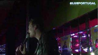 Lee Ryan's performance at Reflex Croydon (All Rise, Too Close, One Love)