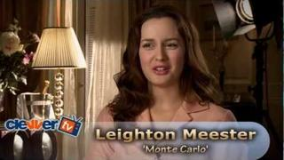Leighton Meester 'Monte Carlo' Interview
