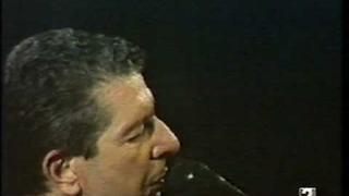 LEONARD COHEN - Suzanne (Live 1988)