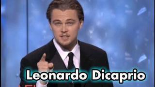 Leonardo Dicaprio Salutes Robert De Niro at the AFI Life Achievement Award