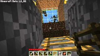Let's Play MineCraft Beta - 006 - Walk in, Black PONY!! what do?