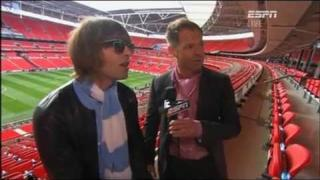 Liam Gallagher FA Cup Final 2011 interviews