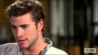 Liam Hemsworth Vanity Fair Interview - Catching Fire + Miley Cyrus