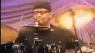 Lil John Roberts Drum Solo on Velvet Rope Tour