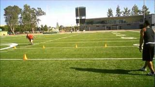 Linebacker Drills and workouts w/ Peter Buck