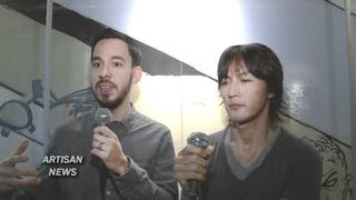 Linkin Park's Mike Shinoda and B'z Koshi Inaba Interview