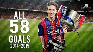 Lionel Messi ● All Goals ● 2014/2015 HD