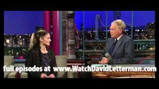 Lisa Kelly in Late Show with David Letterman 2010-10-27