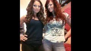 Lita (Amy Dumas) & Trish Stratus on Live Audio Wrestling Part 3