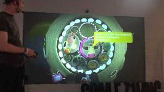 LittleBigPlanet 2 E3 2010 - Alex Evans Presentation @ the SCEE Booth - Part 1