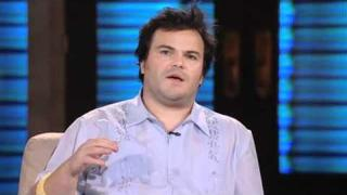 Lopez Tonight - Jack Black explains His Introduction to Metal [Blizzard of Oz]