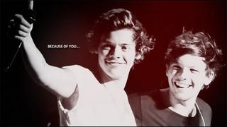 louis&harry | what i feel is something real