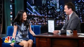 Lucy Liu Is on Twitter (Late Night with Jimmy Fallon)