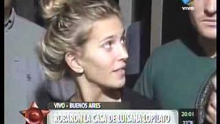 Luisana Lopilato habla del robo
