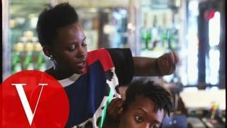 Lupita Nyong'o Braids Hair