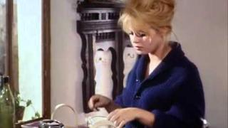 M. Mastroianni & Brigitte Bardot-Vie privée