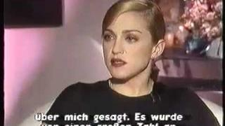 Madonna - Rare Interview with Heike Makatsch - PART 2