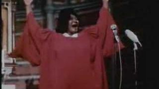 MAHALIA JACKSON Live during European tour late 1960's