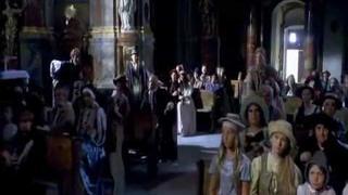 Máj - filmová píseň ze scény z kostela