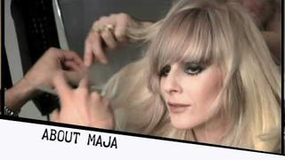 Maja Ivarsson, lead singer for The Sounds, as Sebastian Professional's Color Ignite Visionary