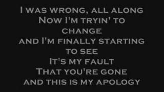 Makeshift Romeo- Apology with Lyrics