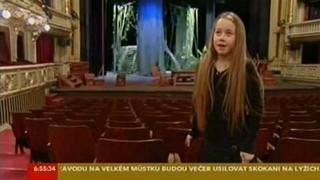 malá herečka z Národního