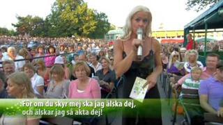 Malena Ernman 'Habanera' Allsång på Skansen 2009