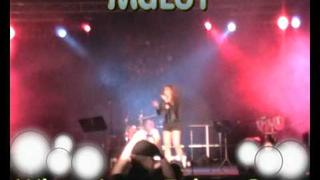 MaLoY - - When Love Takes Over - - Filipina singer in GERMANY