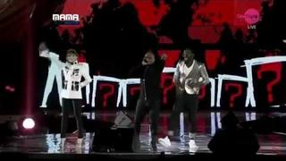MAMA 2011 - Will.I.Am & Apl.De.Ap Feat CL - Where Is The Love [Live Performance]
