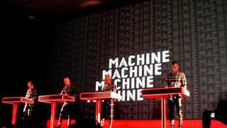 Man Machine - Kraftwerk 1 2 3 4 5 6 7 8 Retrospective #1 Autobahn at the MOMA NYC