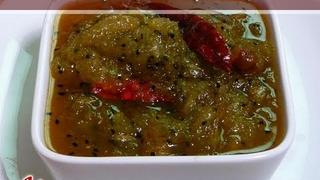 Mango Chutney (Relish), Aam Ka Lacha by Manjula