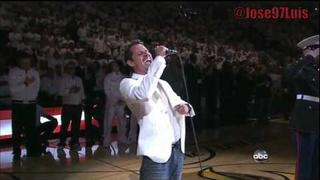 Marc Anthony National Anthem Heat vs Mavs Game 6 Finals HD