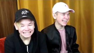 Marcus and his brother Martinus