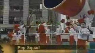 Marcy Rylan on CBS Thanksgiving Day Parade