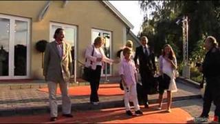 Marie Fredriksson & her family - Webb TV Marie Fredrikssons dotter har konfirmerats Hotgossip se
