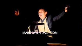 Mark Owen Singing Lantern at the Myotubular Trust Christmas Concert: 16th December 2011