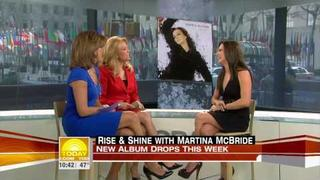Martina McBride Sings I Just Call You Mine On The Today Show - March 25, 2009