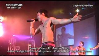 Maspalomas Pride 2010 Official DVD Teaser Video 31: Austin Drage