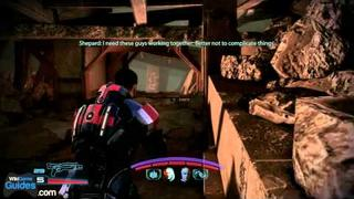 Mass Effect 3 Gameplay Xbox 360 - Part 16 - Downed Vessel: Extract Turian Survivors