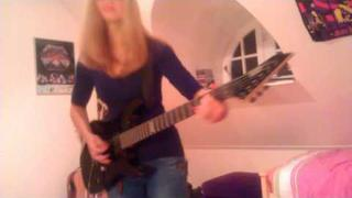 Master of Puppets - Metallica guitar cover by Cissie incl. Kirk Hammett Solo HD