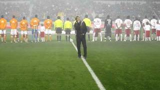 Matt Ballinger sings National Anthem at Red Bulls Soccer Game