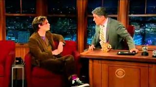 Matthew Gray Gubler on The late Show with Craig Ferguson